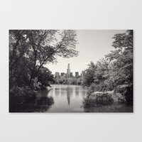 Central Park From Bow's … Canvas Print