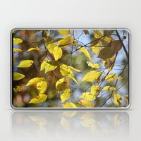 Dreaming Of Yellow Leave… Laptop & iPad Skin