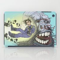 Rocket Boy vs Death Gorilla II iPad Case