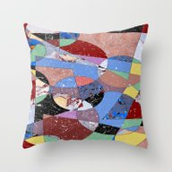 Abstract #99 Throw Pillow