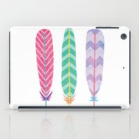 Feather Collage iPad Case