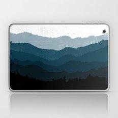 Mists No. 6 - Ombre Blue Ridge Mountains Art Print  Laptop & iPad Skin