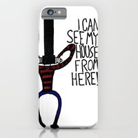 iPhone & iPod Case featuring I Can See My House. by Toro Lobo