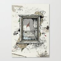 IF THESE WALLS COULD TAL… Canvas Print
