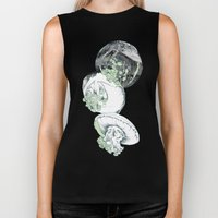 Jelly Fish Biker Tank