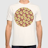 hipie spring Mens Fitted Tee Natural SMALL
