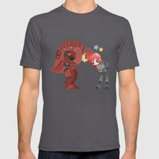 Mass Effect - Wrex And S… Mens Fitted Tee Asphalt SMALL