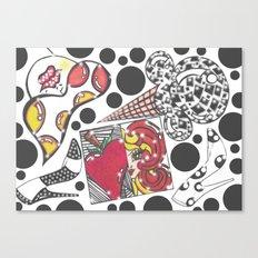 Disco Fresh Canvas Print