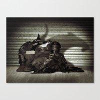 RAT SHOP Canvas Print