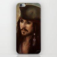 Captain Jack iPhone & iPod Skin