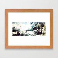 Star Framed Art Print