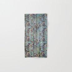 Kashmir on Wood 06 Hand & Bath Towel