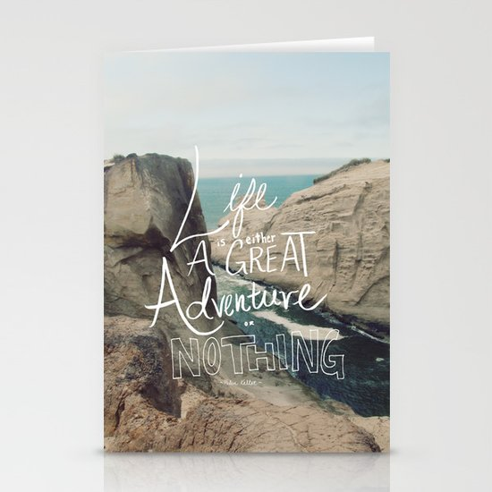 Great Adventure Stationery Card