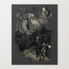 Twenty if by Giant Robot Canvas Print