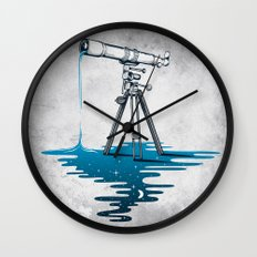 Liquid Universe Wall Clock