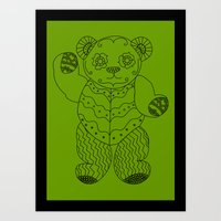 Bear Of The Day Art Print