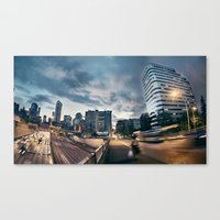 Late Night Canvas Print