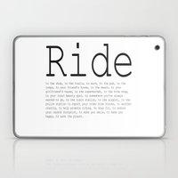 Ride To... Laptop & iPad Skin