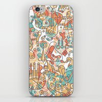 Schema 19 iPhone & iPod Skin