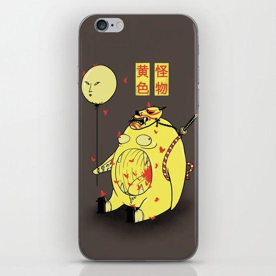My Yellow Monster iPhone & iPod Skin