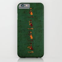 iPhone & iPod Case featuring Forms of Prayer - Green by Damien Koh
