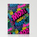 More & More & More Stationery Cards