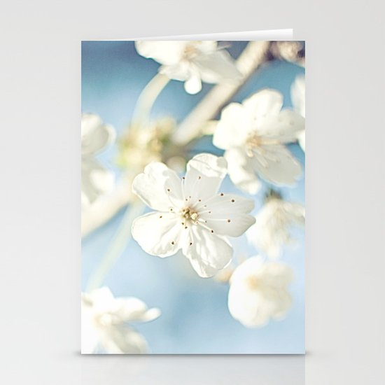 Flowers in the Sky Stationery Card
