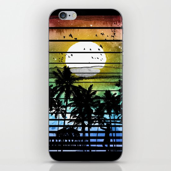 VIVID STRIPES iPhone & iPod Skin