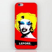 Amanda Lepore x Marilyn Monroe. iPhone & iPod Skin