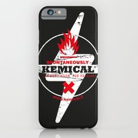 iPhone & iPod Case featuring Spontaneously Kemical by Alberto Angiolin