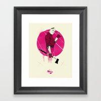 Mr Spiv Framed Art Print