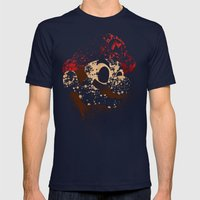 The Red Knight Mens Fitted Tee Navy SMALL