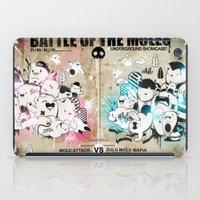 Battle Of The Moles iPad Case