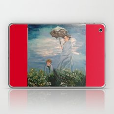 Monet's painting of his wife and son Laptop & iPad Skin
