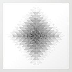 UFOlk 3 Art Print