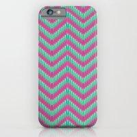 Hot Pink & Mint iPhone 6 Slim Case