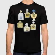 Guerlain Fragrances SMALL Black Mens Fitted Tee