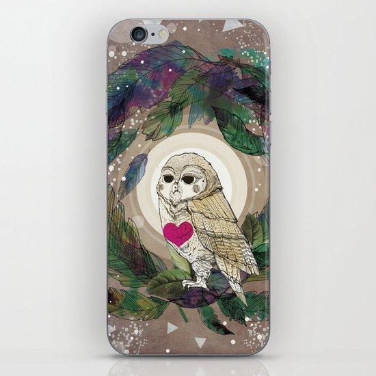 The Great Owl iPhone & iPod Skin