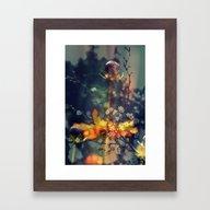 De WonderlandFlowers Framed Art Print
