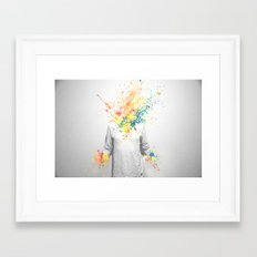Colorful Madness Framed Art Print