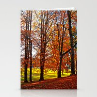 Love of Autumn Stationery Cards