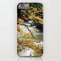 Runs through it. iPhone 6 Slim Case