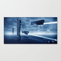 Prometheus Canvas Print
