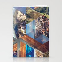 Triangles. Stationery Cards