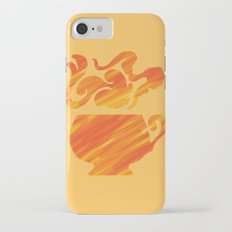 Mate Tea, Yellow on Yellow iPhone 7 Slim Case