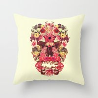 Echinacea Linaria Silen… Throw Pillow