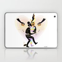 Love from another galaxy Laptop & iPad Skin