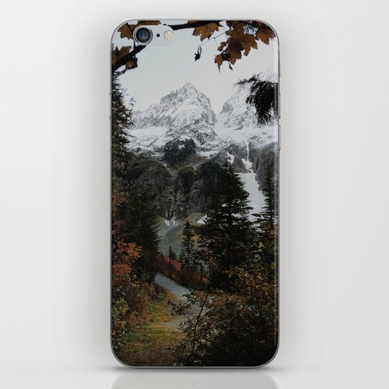 Cascade River Rd iPhone & iPod Skin