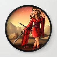 Mars Princess Wall Clock