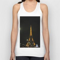 Tour Eiffel Unisex Tank Top